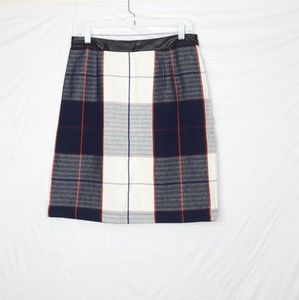 Merona Plaid Pencil Skirt